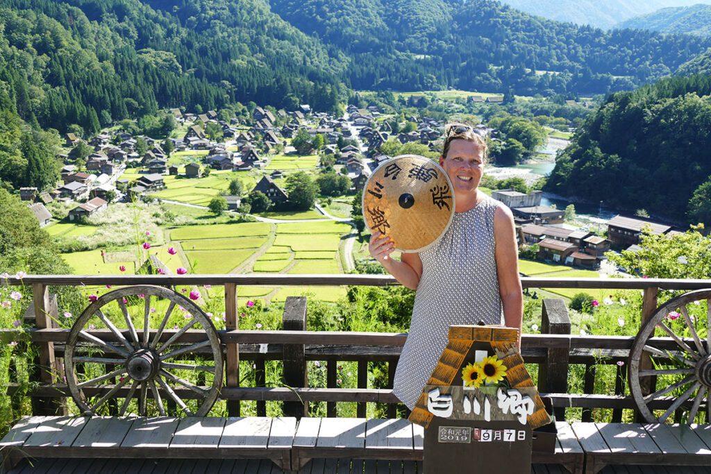 Renata Green in Shirakawago, Japan