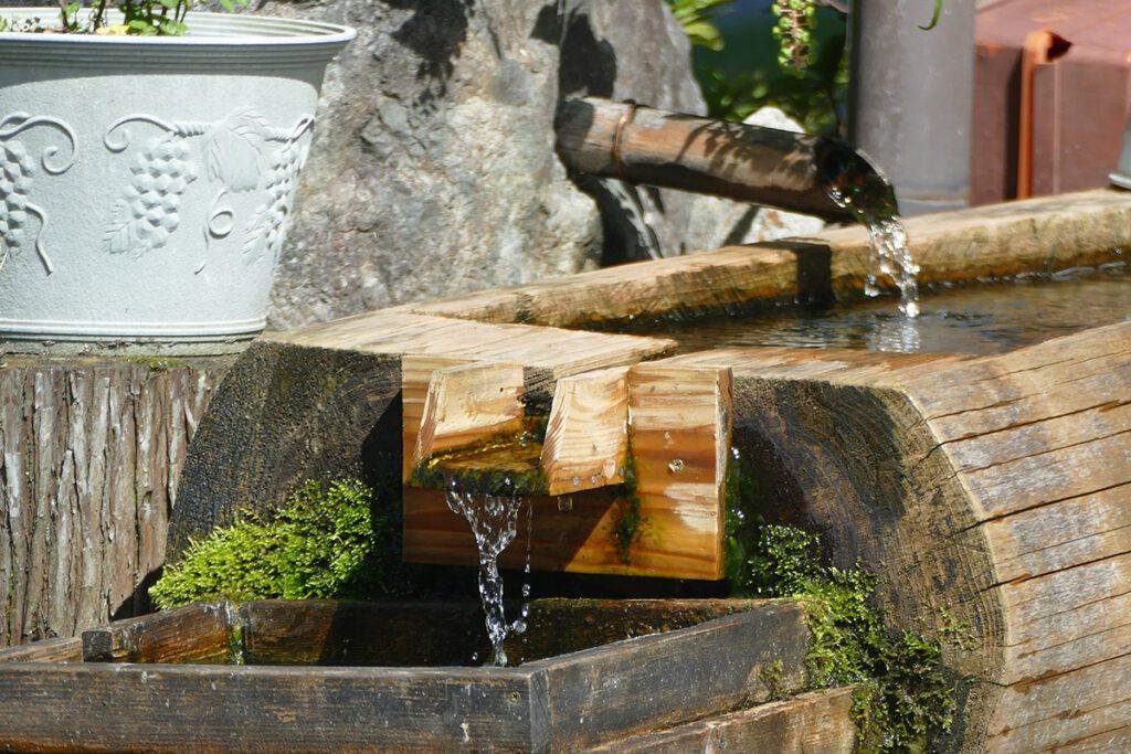 Water pump in Shirakawago