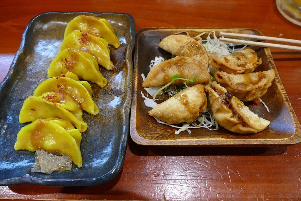 Gyoza in Takayama