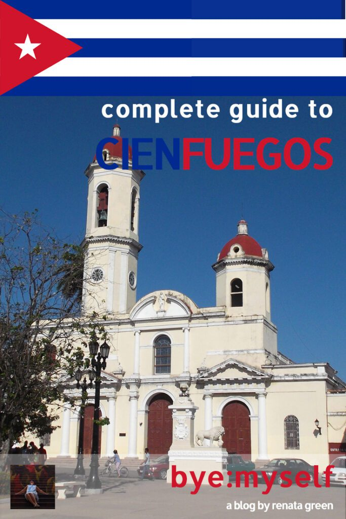Pinnable Picture on the Post on Guide to CIENFUEGOS - the Fancy Side of Cuba