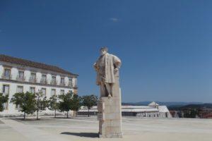 Dom João III statue at Coimbra