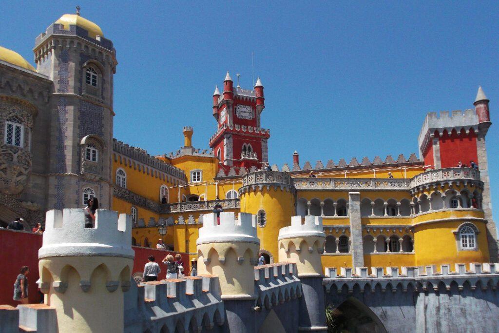 Palácio Nacional da Pena – built in the 19th century for King Fernando II.