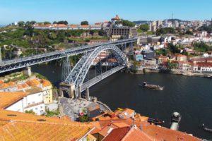 Ponte Dom Luis I., built by Théophile Seyrig, a scholar of Monsieur Gustave Eiffel.