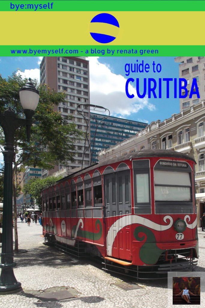 Pinnable Picture on the Post on Guide to CURITIBA - and a Day Trip to MORRETES