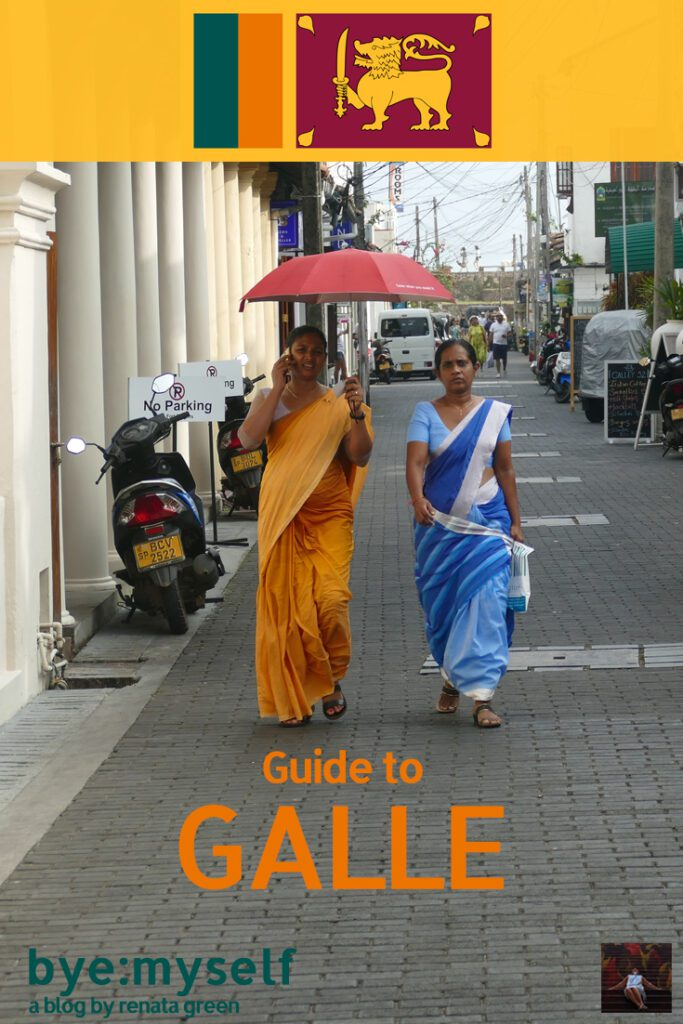 Pinnable Picture for the post on Guide to GALLE - one of Sri Lanka's Highlights
