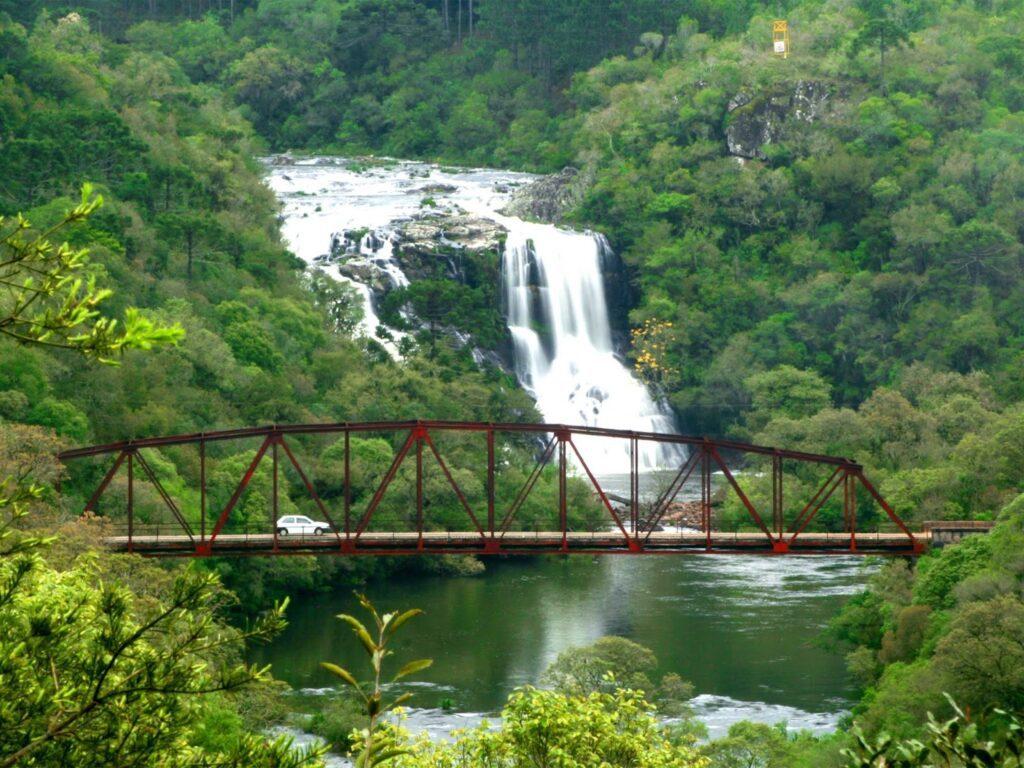 Parque da Cachoeira about 16 kilometers from Bonito.