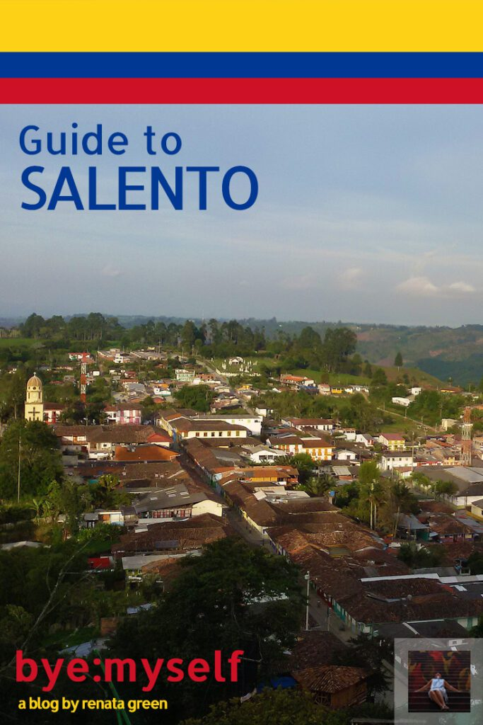 Pinnable Picture on the Post on SALENTO - Fifty Shades of Green in Colombia's Edenic Coffee Region