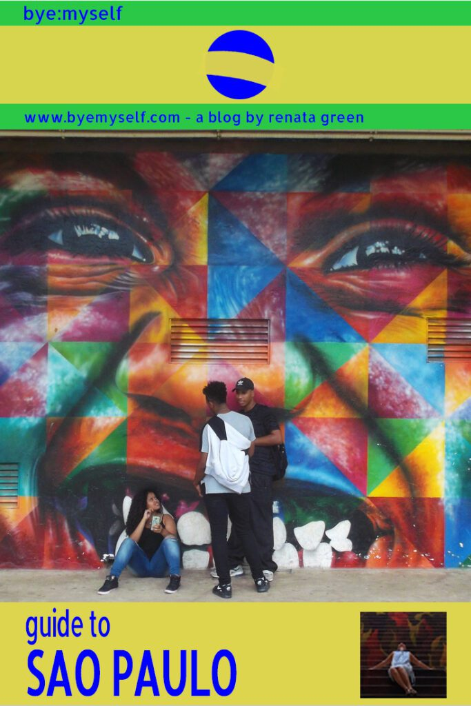 Pinnable Picture on the Post on Guide to SÃO PAULO - Brazil's Art Hub