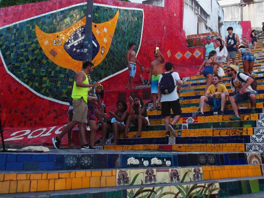 Escadaria do Selarón.