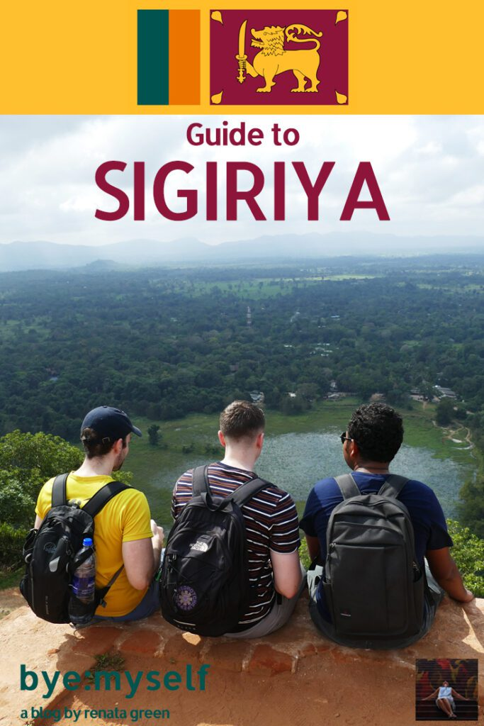 Pinnable Picture for the post on Guide to SIGIRIYA and a daytrip to DAMBULLA